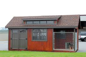 garage dog kennel top quality custom amish made sheds from lancaster pa country