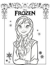 frozen elsa anna coloring pages coloringstar
