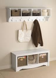 winslow white shoe storage cubbie bench entryway furniture ideas