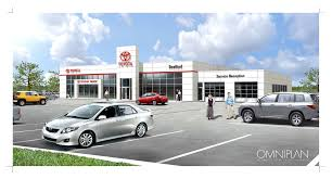 toyota truck dealerships canada u0027s first dealership to earn leed r gold certification opens