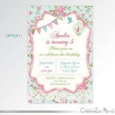 shabby chic birthday invitation first by rachellesprintables