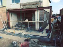 side and back extensions and refurbish three bedroom house v u0026b