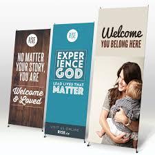 custom welcome banners ekko banners