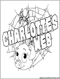33 Best Coloring Pages Charlotte S Web Images On Pinterest Web Coloring Pages