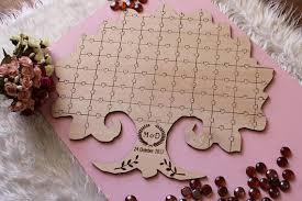 alternative wedding guest book aliexpress buy tree jigsaw puzzle wedding guestbook tree