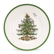 spode tree set of 12 dinner plates spode usa