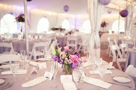 purple wedding decorations modern maryland wedding reception united
