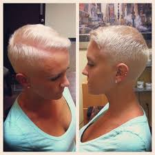 cut your own hair with clippers women women buzz cuts close clippers great girl braves the barber s