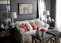 Gray And Beige Living Room by Ideas For A Feature Wall In Living Room Dorancoins With Regard