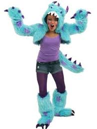 Cute Halloween Costumes Tween Girls Cute Colorful Girls Monster Costume Halloween Play