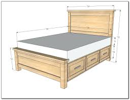 Queen Platform Beds With Storage Drawers - mattress firm bed frame platform bed with storage drawers