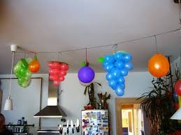 images home decorating ideas 7 lovable very easy balloon decoration ideas part 1 sad to