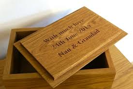 personalized wooden keepsake box personalised wooden box makemesomethingspecial