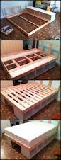 Diy Platform Bed Frame With Storage by 25 Best Storage Beds Ideas On Pinterest Diy Storage Bed Beds