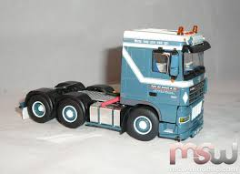 rollcontainer 3 he model wsi daf xf 95 space cab 1681 solo tractor 3 axle 1 50