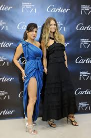 elle macpherson attends the gala night honoring irma and norman