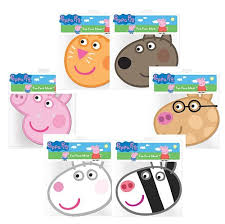 peppa pig party peppa pig party masks assorted pack of 6