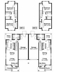 Duplex Plans With Garage 64 Best Duplex Designs Images On Pinterest Duplex Design Duplex