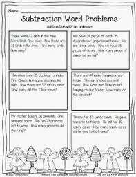 subtraction word problems missing addends word problems s pins word