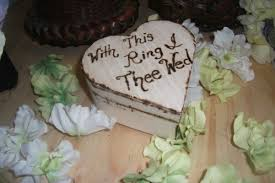 with this ring i thee wed weddingrustic on artfire ring with this ring thee wed ring