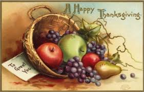 happy thanksgiving free vintage