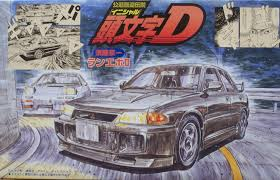 mitsubishi lancer evo 3 1 24 scale initial d mitsubishi lancer evolution iii model kit