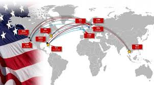 Air Canada Flight Map by Pilots Protest Norwegian Flights To New York Business Insider