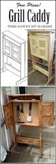 Woodworking Plans Desk Caddy by Build This Diy Grill Caddy With Free Building Plans The Sawdust