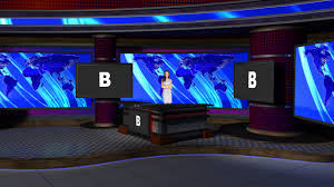 News Studio Desk by Virtual Set Studio 187 For Hd Is A Nightly News Room With A Desk