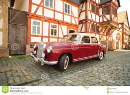 car mercedes red old vintage red mercedes car editorial stock image image 21889859