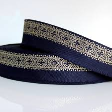 navy blue lace ribbon 5 yard diy manual material navy blue lace trim ethnic stage