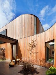 curved wood wall curved wood wall houzz
