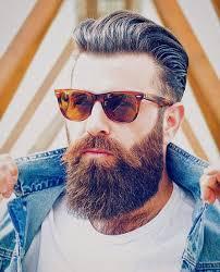 Frisur Lange Haare Nach Hinten by Männerfrisuren Mit Bart 2016 Die Besten Styles Im überblick