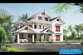 Green Homes Beautiful Kerala Home Design Sqfeet House Designs In India Exterior Plan Interesting Most