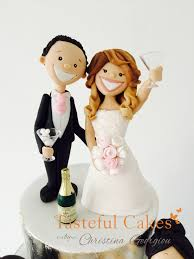 Funny Wedding Cake Toppers Tasteful Cakes By Christina Georgiou Funny Drunk Themed Wedding