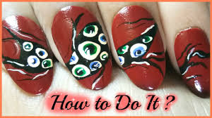 how to do nail art at home youtube