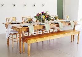 harvest table u0026 bench rentals premiere events