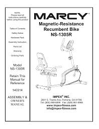 impex ns 1305r owner u0027s manual