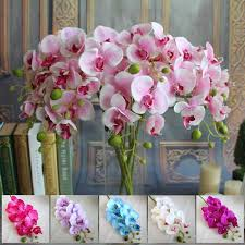 wholesale silk flowers wholesale artificial silk flowers small butterfly orchid 78cm