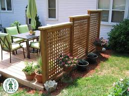 Privacy Screens For Backyards by Privacy Screenondeck This Is A 12x 16 Foot Deck With Custom