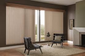 decorating fabric levolor vertical blinds plus rug and cool chair
