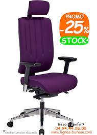 chaise de bureau violette siège de bureau ergonomique avec têtière en tissu hd achat vente