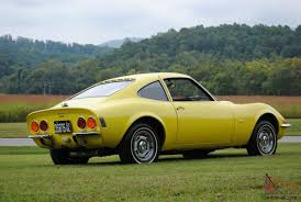 1970 opel 4 door opel gt original ca car 3rd owner auto sunburst yellow