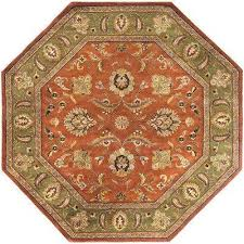 Home Depot Wool Area Rugs 8 X 10 Octagon Area Rugs Rugs The Home Depot