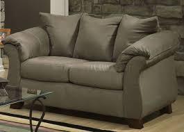 microfiber elegant modern sofa u0026 loveseat set w options