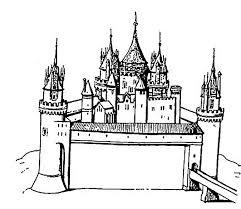 castle coloring pages coloringeast