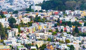 San Francisco City Map by Sf Neighborhood Bernal Heights Bay City Guide San Francisco