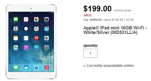 ipad mini target price black friday 2014 apple ipad mini just 199 from target for this week only