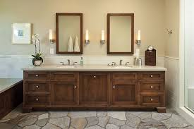 craftsman master bathroom with inset cabinets master bathroom