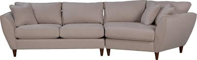contemporary two piece sectional sofa with las cuddler by la z boy